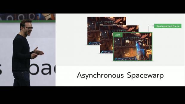 Der Asynchronous Spacewarp klappt auch mit Positional Tracking (Bild: Oculus)