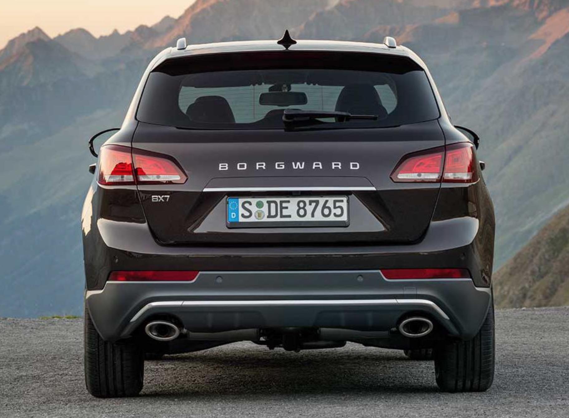 Elektroautos: Borgward kehrt nach Bremen zurück - Borgward BX7 (Bild: Borgward)
