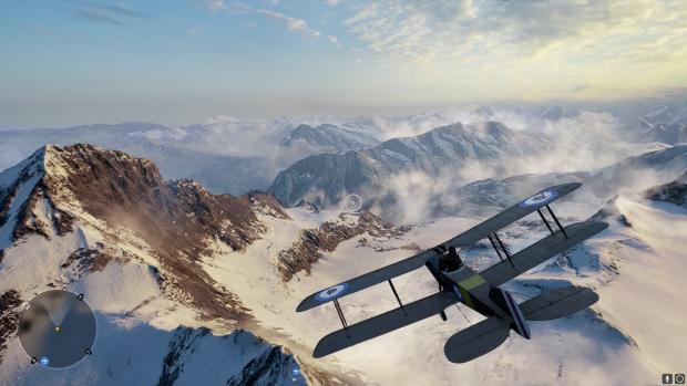Tolle Aussichten gibt's beim Fliegen. (Screenshot: Golem.de)