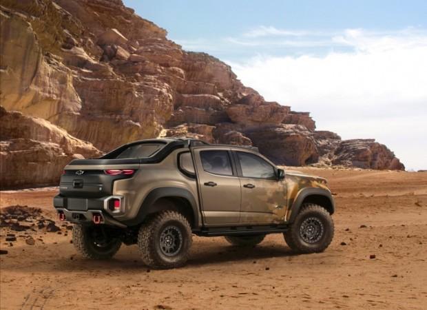 Chevy Colorado ZH2 (Bild: General Motors)