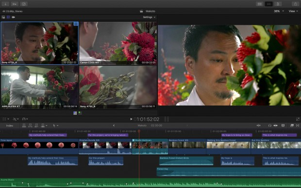 Final Cut Pro X (Bild: Apple)