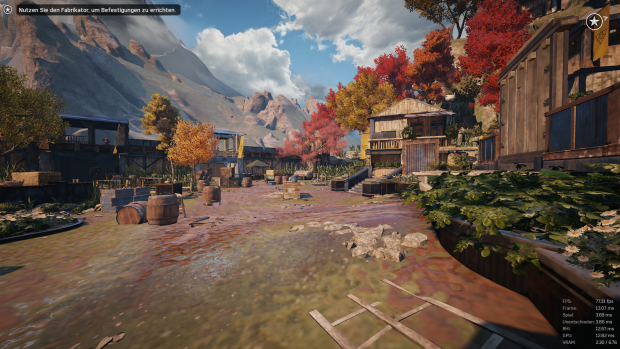 Gears of War 4, minimale Details (Screenshot: Golem.de)
