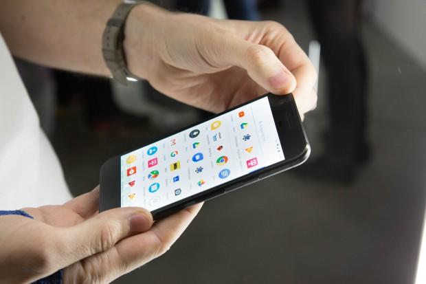 Pixel-Smartphone (Bild: Martin Wolf/Golem.de)