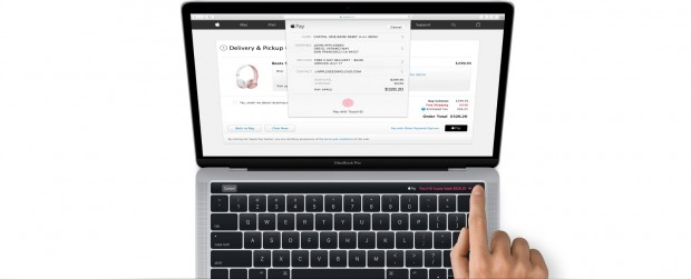 MacBook Pro mit Touch-ID (Bild: Apple)