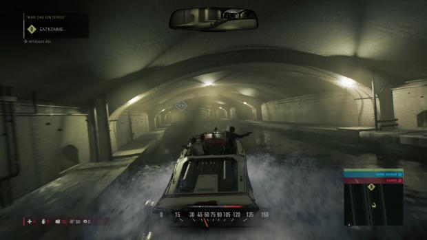 Eine Verfolgungsjagd im Motorboot... (Screenshot: Golem.de)
