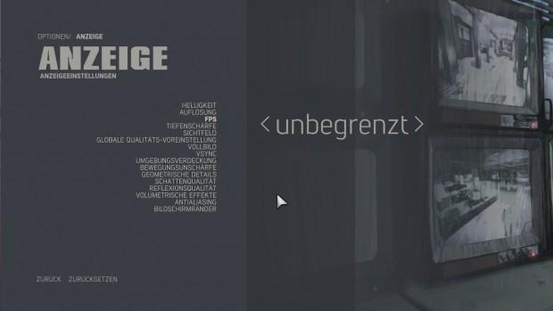 """So soll es sein: """"Unbegrenzte"""" Bilder pro Sekunde in der PC-Version von Mafia 3. (Screenshot: Golem.de)"""