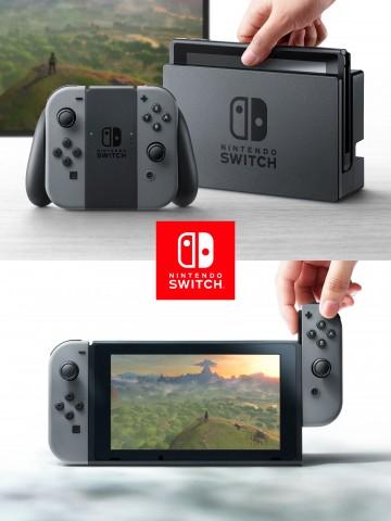 Switch mit Dock und als Tablet (Bild: Nintendo)