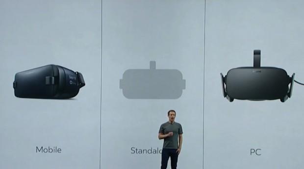 Das VR-Headset sei der Sweet Spot zwischen Mobile und PC (Bild: Facebook)