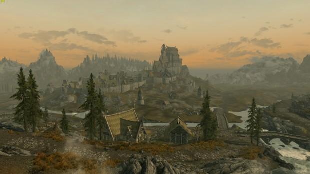 Skyrim Original (Screenshot: Marc Sauter/Golem.de)