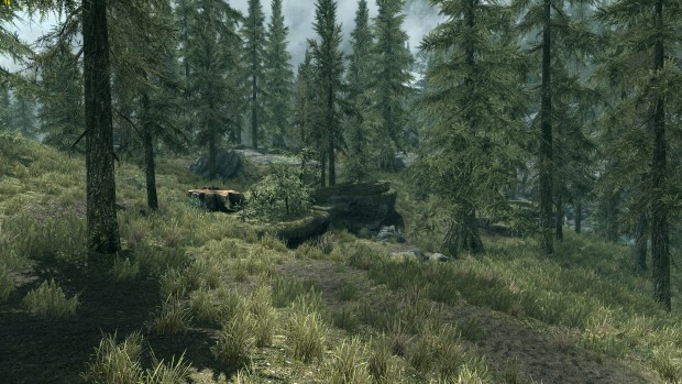Skyrim Original (Screenshot: Marc Sauter/Golem.de)