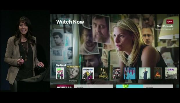 TV-App für Apple TV (Screenshot: Golem.de)