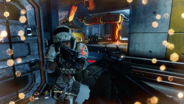 Die Soldaten der IMC sind nicht sehr viel mehr als Kanonenfutter für uns. (Screenshot PS4: Golem.de)
