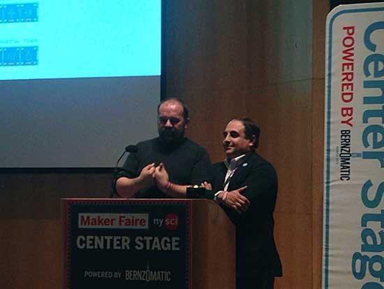 Massimo Banzi und Frederico Musto: Präsentation der Einigung aus Sicht von Arduino.cc/Arduino LLC (Foto: Arduino.cc)