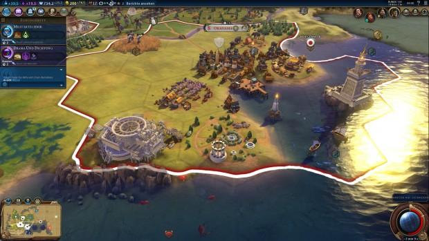 Civilization 6 (Screenshot: Golem.de)