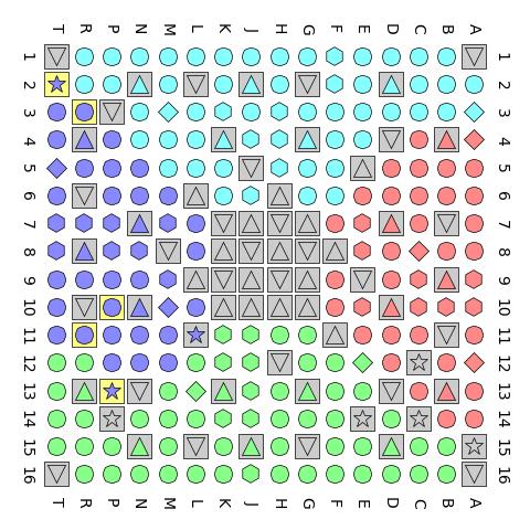 Die FPGA-Pins (Bild: Christer Weinigel)