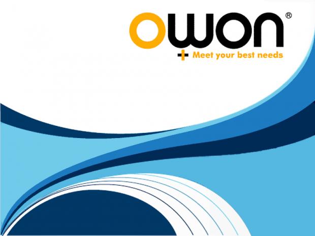 Owon-Bootscreen (Bild: Christer Weinigel)
