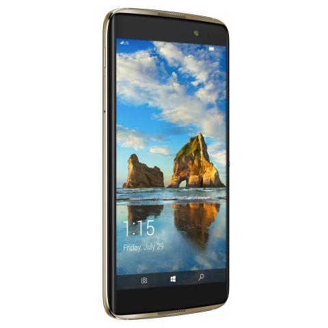 Das Idol 4S von Alcatel mit Windows 10 (Bild: Alcatel)