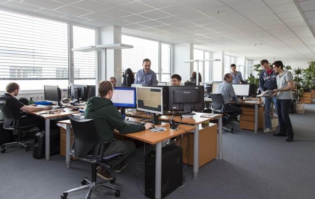Bei Denuvo in Salzburg arbeiten rund 40 Mitarbeiter an Anti-Tamper-Programmen. (Bild: Denuvo)