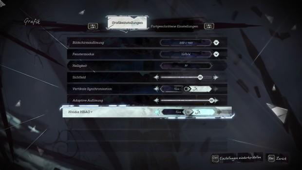HBAO+ gibt es nur mit Geforce-Karten (Screenshot: Marc Sauter/Golem.de)