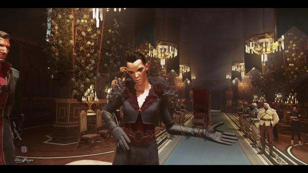 Diese Dame klaut uns im Handstreich den Thron. (Screenshot: Golem.de)