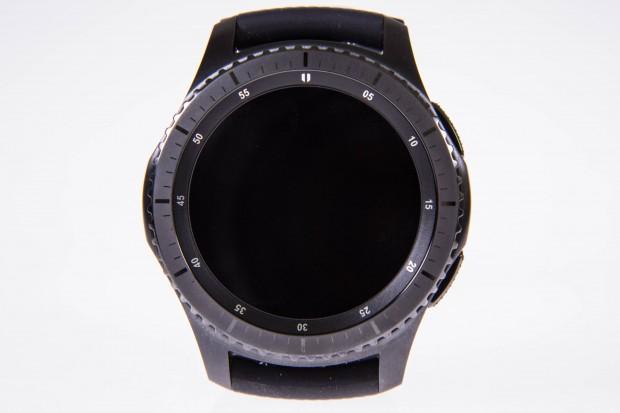 Das Display der Gear S3 ...