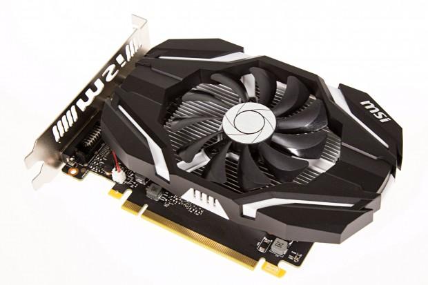 MSI Geforce GTX 1050 Ti (Bild: Martin Wolf/Golem.de)