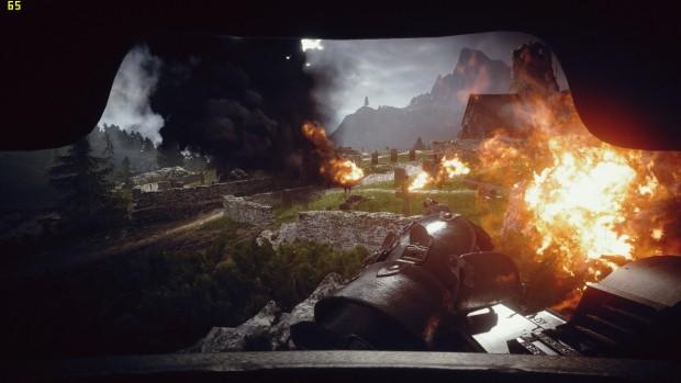 Battlefield 1, 1080p, High, TAA (Screenshot: Marc Sauter/Golem.de)