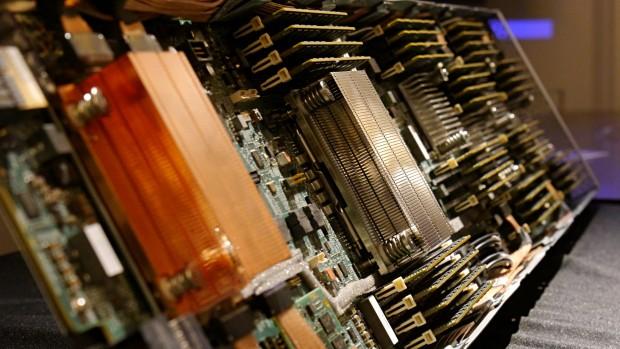 Prototyp von The Machine (Foto: Marc Sauter/Golem.de)