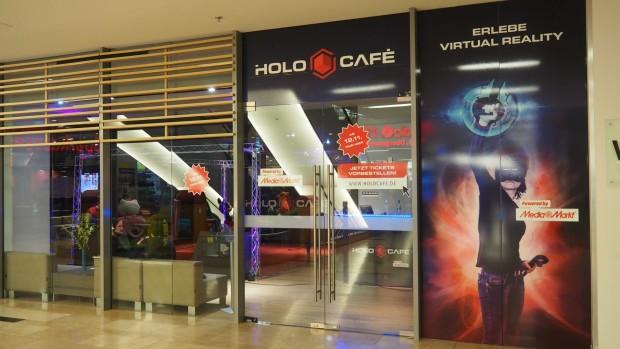 Der Pop-up-Store des Holocafés befindet sich im Untergeschoss der Düsseldorf Arcaden im Stadtteil Unterbilk. (Quelle: Medienagentur Plassma)