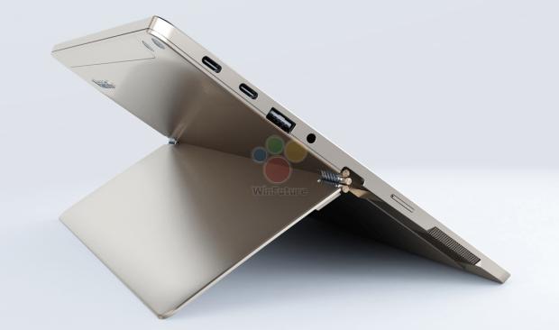 Vorläufiger Prototyp des Lenovo Miix 520 (Bild: Winfuture)
