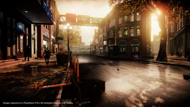 Infamous First Light in 4K-UHD (Screenshot: Sony)