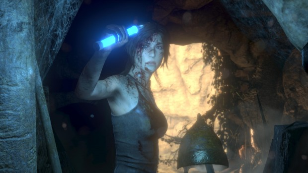 Rise of the Tomb Raider in 4K-UHD (Screenshot: Sony)