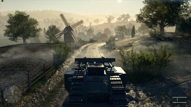 Battlefield 1, Ultra-Details, 3.200 x 1.800 (Screenshot: Marc Sauter/Golem.de)