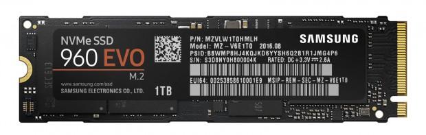 SSD 960 Evo (Bild: Samsung)