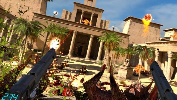 Serious Sam VR - The Last Hope (Screenshot: Croteam)