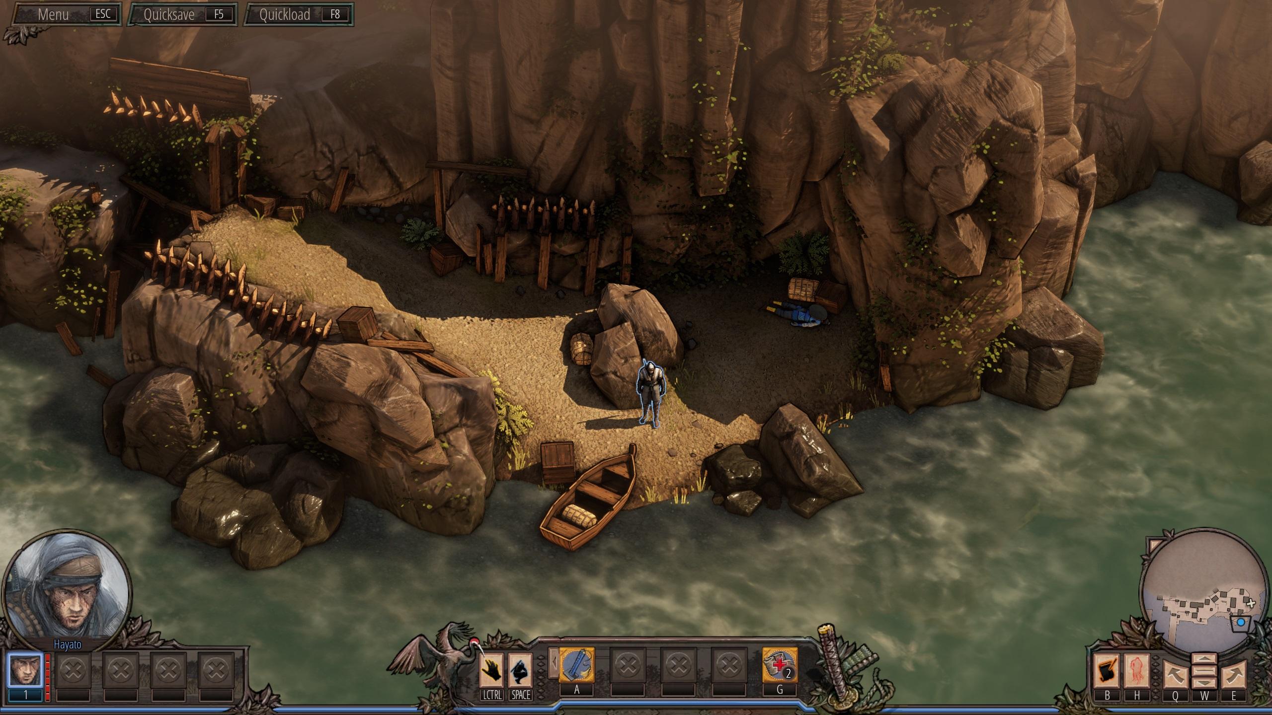Shadow Tactics im Test: Tolle Taktik für Fans von Commandos - Shadow Tactics (Screenshot: Golem.de)