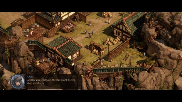 Shadow Tactics (Screenshot: Golem.de)