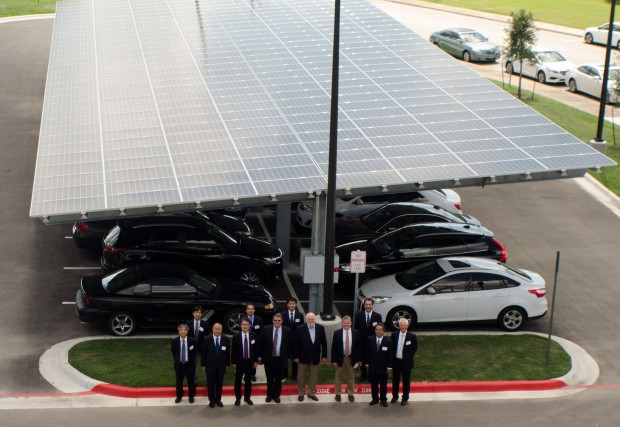 Der Hikari wird mit Solarenergie betrieben (Foto: TACC)