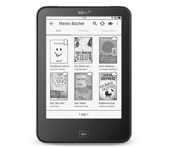 Tolino Vision 4 HD: E-Reader soll beim Lesen die Stimmung nicht eintrüben - Tolino Vision 4 HD (Bild: Tolino)