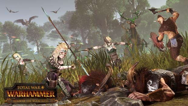 """Erweiterung """"Das Reich der Waldelfen"""" für Total War Warhammer (Bild: Sega)"""