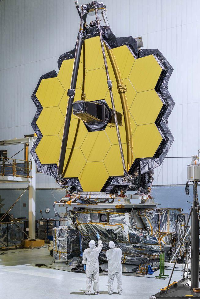 Astronomie: James-Webb-Weltraumteleskop ist fertig -