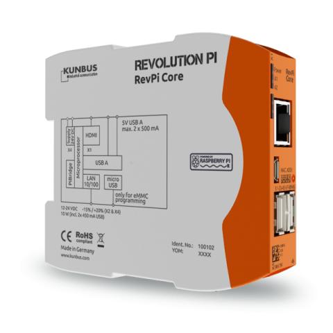 Revolution Pi Core-Modul (Bild: Kunbus GmbH)