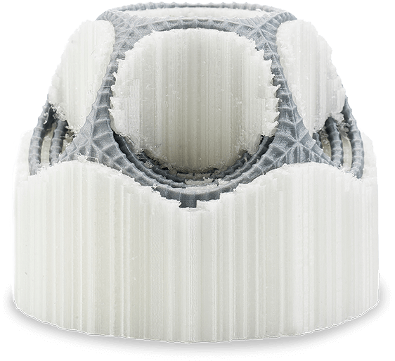 Ultimaker 3: Besser 3D-Drucken mit wasserlöslichem Material -