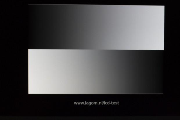 Das 8-Bit-Panel lässt sich leicht kalibrieren und deckt den sRGB-Raum zu 100 Prozent ab. (Foto: Michael Wieczorek)