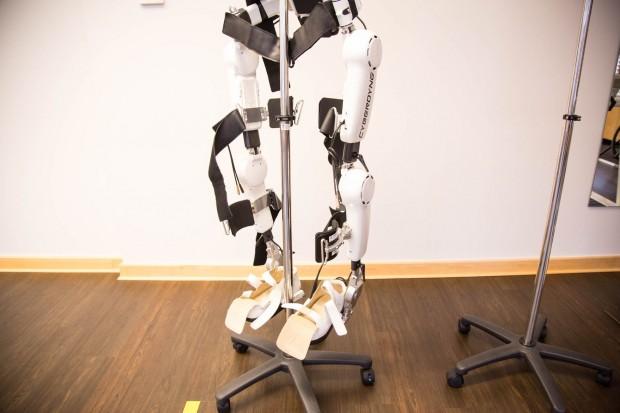 Es ist auch ein Exoskelett. (Foto: Martin Wolf/Golem.de)