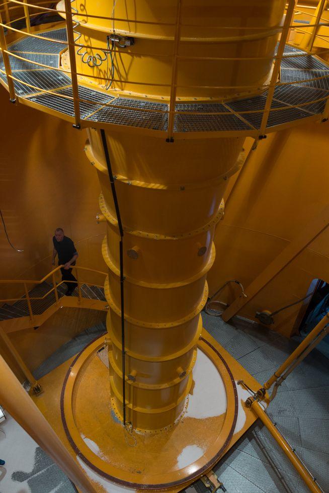 Zarm: Zehn Sekunden schwerelos - Nach dem Druckausgleich wird die Kapsel geborgen. (Foto: Werner Pluta/Golem.de)
