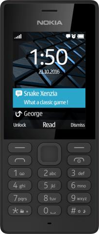 Das Nokia 150 in schwarz (Bild: HMD Global)