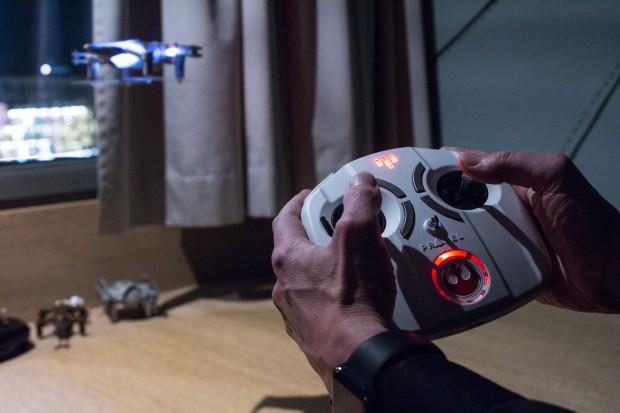 Der X-Wing beim Abheben (Bild: Martin Wolf/Golem.de)