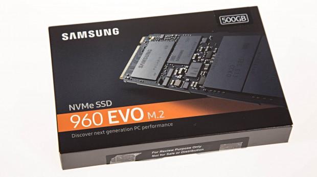 Samsung 960 Evo (Foto: Martin Wolf/Golem.de)