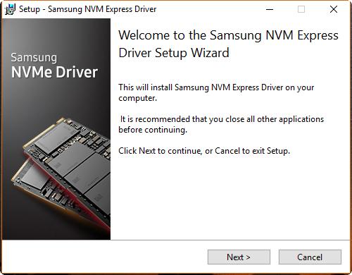 Samsung bietet den NVMe Driver 2.0 an (Foto: Martin Wolf/Golem.de)